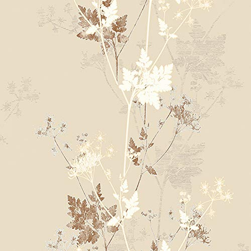 (Advantage 2811-JY11302 Tara Cream Sprig Wallpaper)