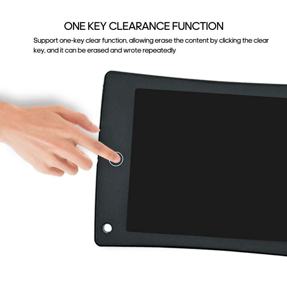 Atlojoys Tableta de escritura LCD Tablero de escritura de 12Bloc de dibujo Tablero de Doodle Sin papel con bol/ígrafo para regalos de ni/ños