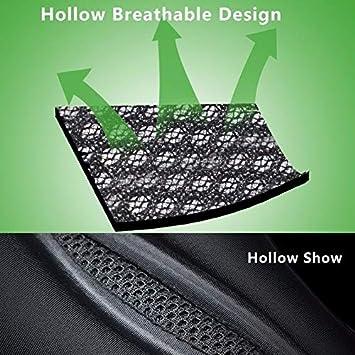 Taille: 26x14x3.2cm WHCWH Si/ège v/élo Selle de v/élo VTT V/élo Seat ROCKBROS Avant Mat Creux Couvre-Selle Noir Color : Black