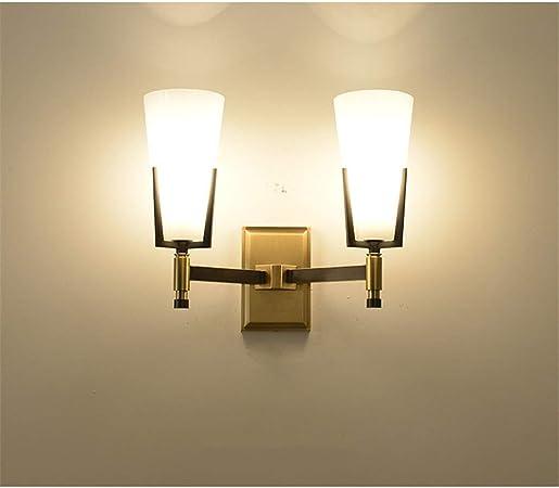 Aplique de pared Aplique para baño Escalera de dor Paño creativo Minimalista Moderna Sala de estar Dormitorio Balcón Hotel Pasillo Lámpara de pared Enchufe Luz de pared LED de noche con interruptor: