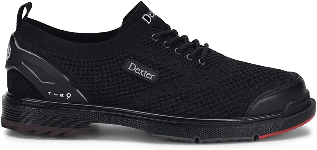 9 Stealth Black Bowling Shoes 8.5