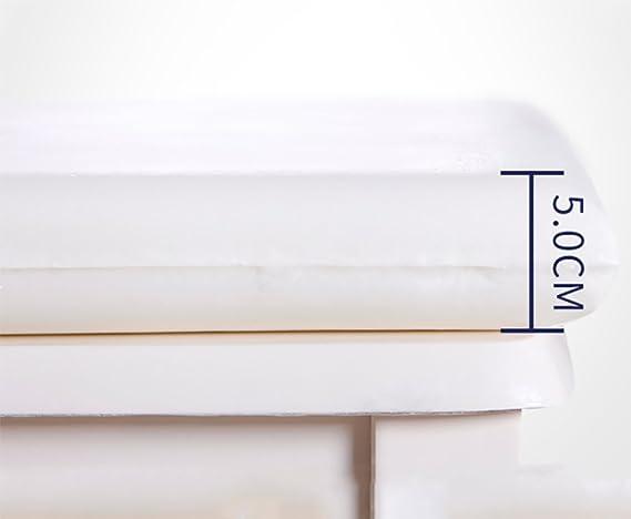 ... cojín Combo - Espuma de Poliuretano de la Memoria - Dos Correas Ajustables - Grande para el Alivio del Dolor-K 5x40x40cm(2x16x16): Amazon.es: Hogar