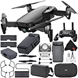 DJI Mavic Air Drone Fly More Combo (Onyx Black) CP.PT.00000156.02 + DJI Intelligent Flight Battery for Mavic Air + Deluxe Cleaning Kit + MicroFiber Cloth Bundle