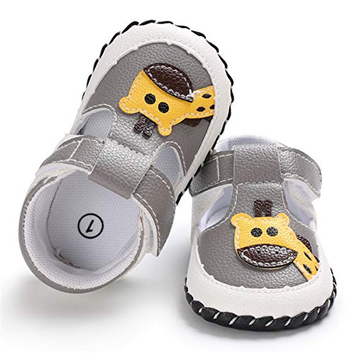 4717b10479412 BEBARFER Baby Boys Girls Shoes Cartoon Crawling Slippers Soft Moccasins  Toddler Infant Crib Pre-Walkers First Walkers Shoes Sneakers(0-6 Months M  US ...