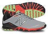 New Balance Men's Minimus Golf Shoe, Grey/Orange, 10.5 D US