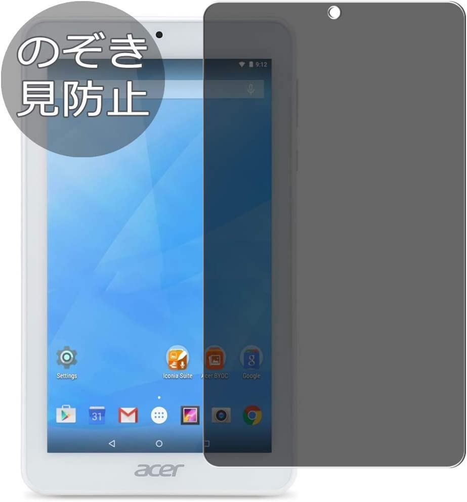 Synvy Privacy Screen Protector Film for Acer Iconia One 7 B1-770 One7 0.14mm Anti Spy Protective Protectors [Not Tempered Glass]