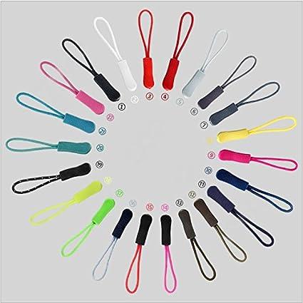 ... Outus Zipper Pulls Zipper Extension Nylon Zipper Tab Replacement 35 Pieces