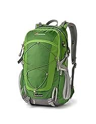 Mountaintop® Unisex 40L Outdoor Hiking Climbing Cycling Backpack Daypack M5832 Shoulder Waterproof Mountaineering Bag Trekking Travel Rucksack (New Green)