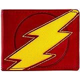 Marvel Flash Lightning Bolt Red ID & Card Bi-Fold Wallet