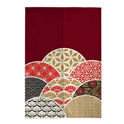 George Jimmy Classical Japanese Style Curtain Restaurant Kitchen Curtain Hang Cloth Doorway Curtains, 03 by George Jimmy (Image #2)