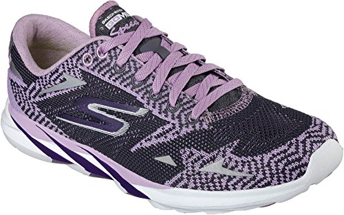 Speed 3 Top Charcoal Low Purple Skechers nbsp;2016 Sneakers Women's MEB Go qwFxn0t7E