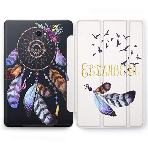 Wonder Wild Dream Catcher Samsung Galaxy Tab S4 S2 S3 A E Smart Stand Case 2015 2016 2017 2018 Tablet Cover 8 9.6 9.7 10 10.1 10.5 Inch Clear Design -