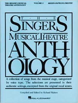 The Singer's Musical Theatre Anthology - Volume 2: Mezzo-Soprano