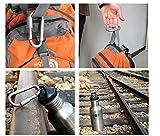 Outmate 6 pcs Aluminum D-Ring Locking Carabiner