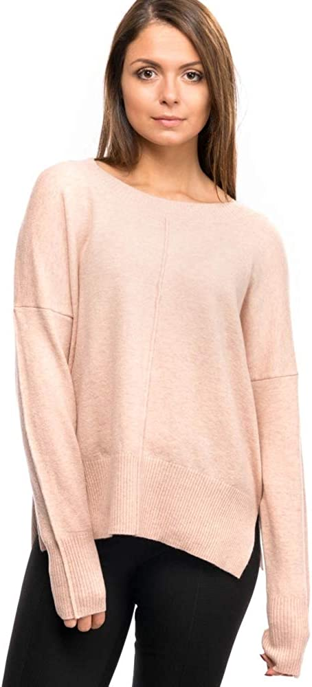 French Connection Della Vhari L//S Womens Crew Neck Jumper Lotus Flower L