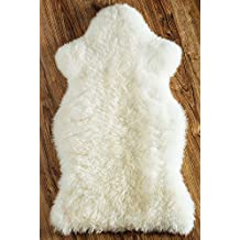 Ricardo B.H. Genuine Sheepskin Rug - White Single Pelt
