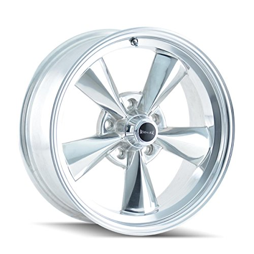 Town Car Alloy Rim Wheel - Ridler 675 Polished Wheel (15x7