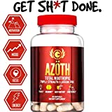 AZOTH Super Strength Nootropic For Focus, Anxiety, Motivation, Confidence, Mood, & Cognitive Enhancement-100%