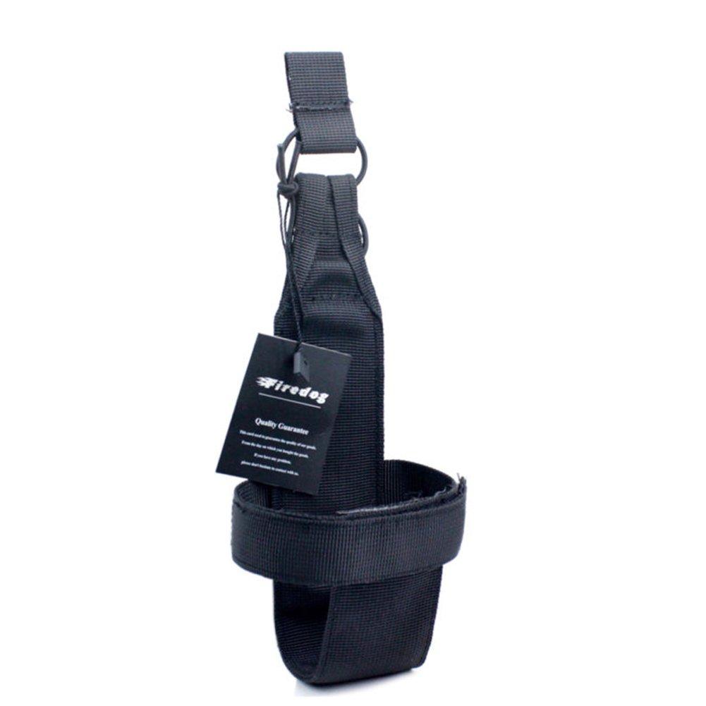 Soporte faltriquera Molle para botella de agua, para deporte, cinturón, mujer, 1:Mud cinturón QueMu