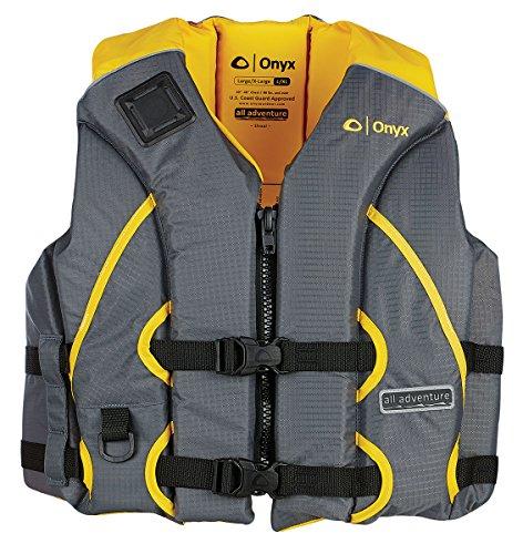 Onyx All Adventure Shoal Life Vest, Yellow, XX-Large/3X-Large ()