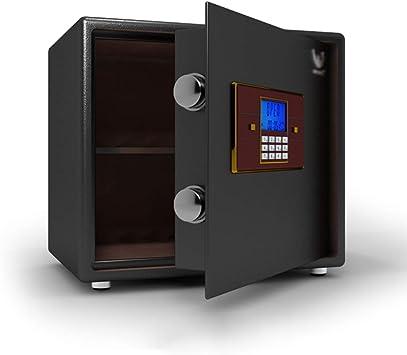 Caja fuerte Caja Fuerte, con Alarma Dual e Iluminación LED Incorporada, Caja de Seguridad, Caja de Efectivo, para Cámara de Joyería (Color : 35cm): Amazon.es: Bricolaje y herramientas