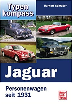 Book Typenkompass Jaguar. Personenwagen seit 1931.