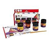 Marabu Silk Starter Set,Multicolor,50 ml