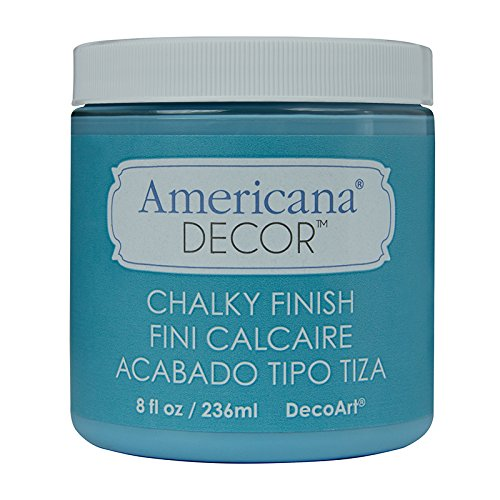 Distressed Paint Finish - DecoArt ADC-20 Americana Chalky Finish Paint, 8-Ounce, Escape