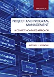 img - for Project and Program Management: A Competency-Based Approach, Third Edition book / textbook / text book