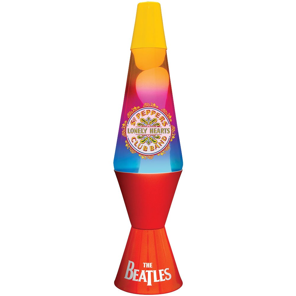 New The Beatles Sgt. Peppers Lava Lamp - - Amazon.com