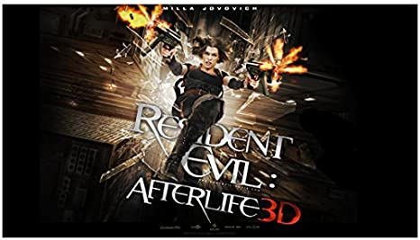 Resident Evil Afterlife 2010 8 Inch X10 Inch Photo Milla Jovovich 3d Key Art At Amazon S Entertainment Collectibles Store