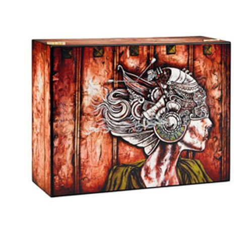 Profile Humidor - 100 Cigars - Original artwork by Hector 'Chino' Perez by Quality Importers
