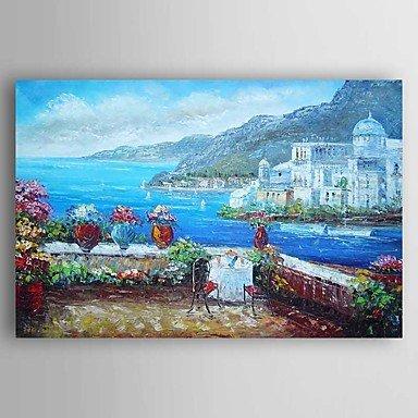 XHL XHL XHL Art Handgemalte Landschaft Ölgemälde,Modern Ein Panel Leinwand Hang-Ölgemälde For Haus Dekoration , 24  x 36  B078898HPT | Schönes Aussehen  0eddff