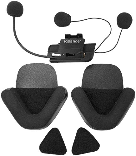 Cardo Scala Rider Audio Q1/Q3 Microphone and Speaker Kit - Black