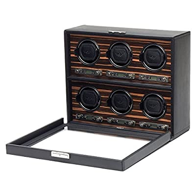 WOLF Roadster 6 Piece Watch Winder