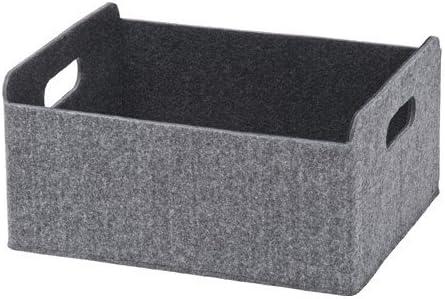 Ikea BESTA - Caja (25 x 31 x 15 cm), color gris: Amazon.es: Hogar