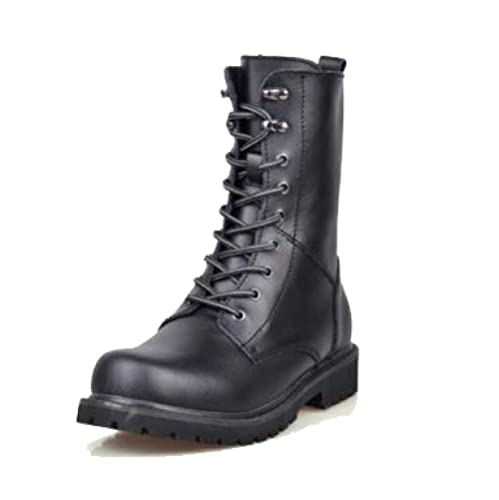 Mens Martin Boots Botines De Cuero Dealer Safety Boots Outdoors Camping Chelsea Boots Casual Elegante: Amazon.es: Zapatos y complementos