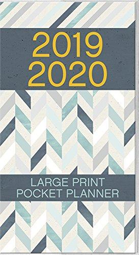 2019 Large Print Pocket Planner