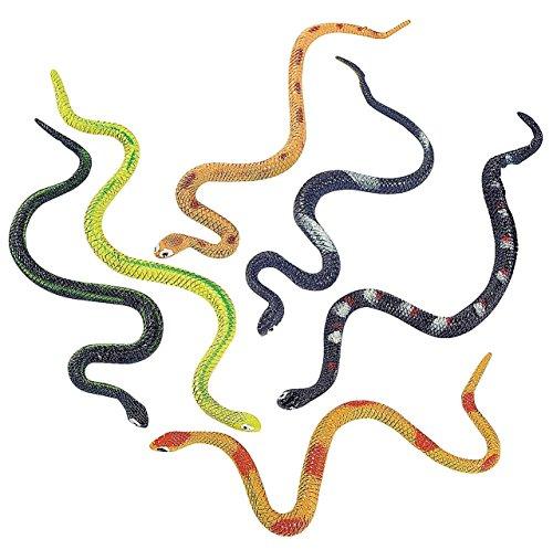 Fun Express BHBM523W4836 Vinyl Snakes