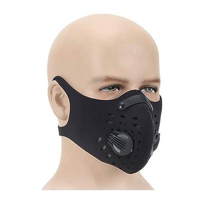 Dreamy - Máscara de Ciclismo anticontaminación con carbón Activado, Resistente al Viento, Resistente al