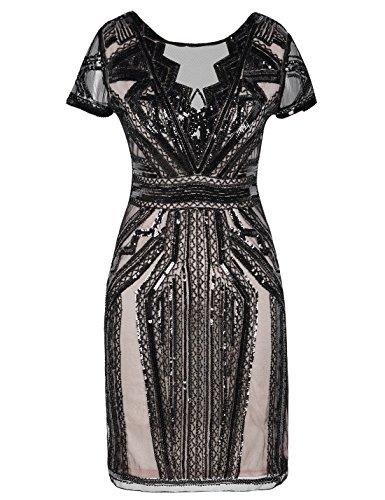 1920s backless dress - 2