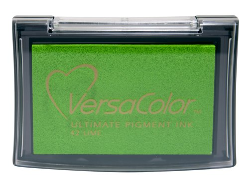 Tsukineko Full-Size VersaColor Ultimate Pigment Inkpad, Lime