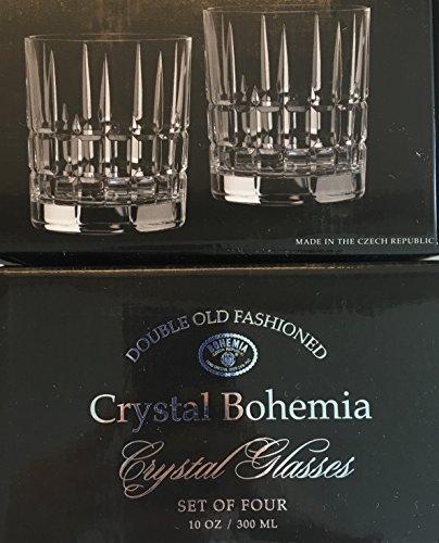bohemia-crystal-timesquare-dof-plaid-tumbler-set-of-4