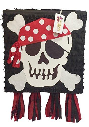 APINATA4U Pirate Skull Pinata -