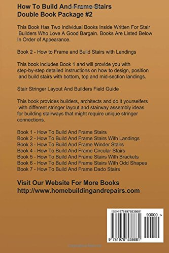 How To Build And Frame Stairs - Double Book Package #2 (How