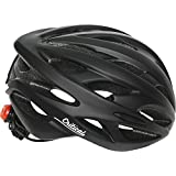 Critical Cycles 2580 Adult Silas bicicleta Helmet con 24 Vents, One Size, Matte negro