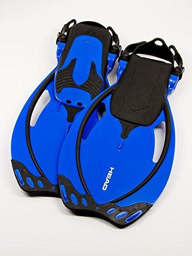 - Mares Allegra Junior Adjustable Snorkeling Fins for Kids (Blue, Large (1-4))
