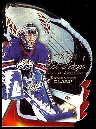 Amazoncom Ci Curtis Joseph Hockey Card 1996 97 Flair Hot Gloves
