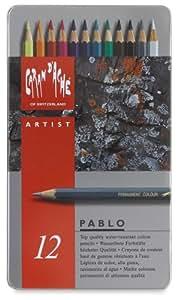 Caran d'Ache Pablo 0666-312 12 color set (japan import)