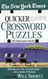 The New York Times Quicker and Easier Crossword Puzzles, New York Times Staff, 0312933568